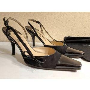 52f6c8b02b Women Chanel Bow Heels on Poshmark